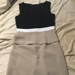 One piece suit dress in size 2